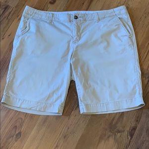 Old Navy Khaki Perfect Bermuda Shorts